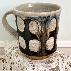 Handcrafted Pottery Coffee Mug Drip Glaze